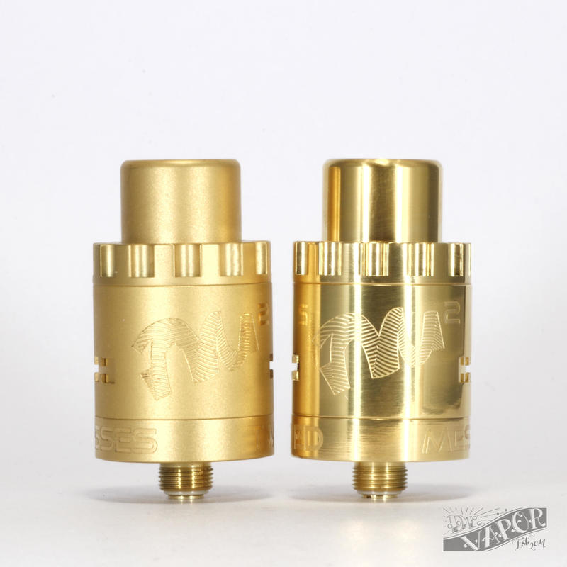 Twisited Messes RDA GoldAF by CompVape