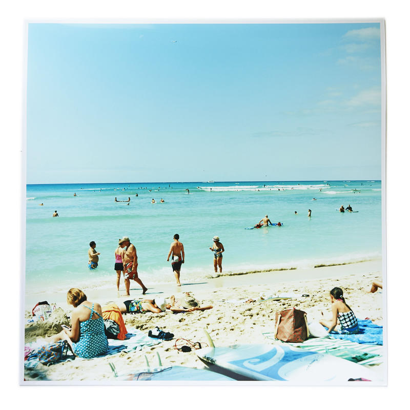 Original Print - From Waikiki Beach 1/1