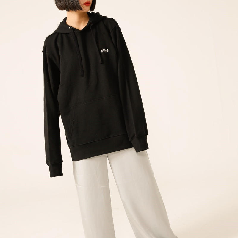 BOLMETEUS Oversized hoodie Black