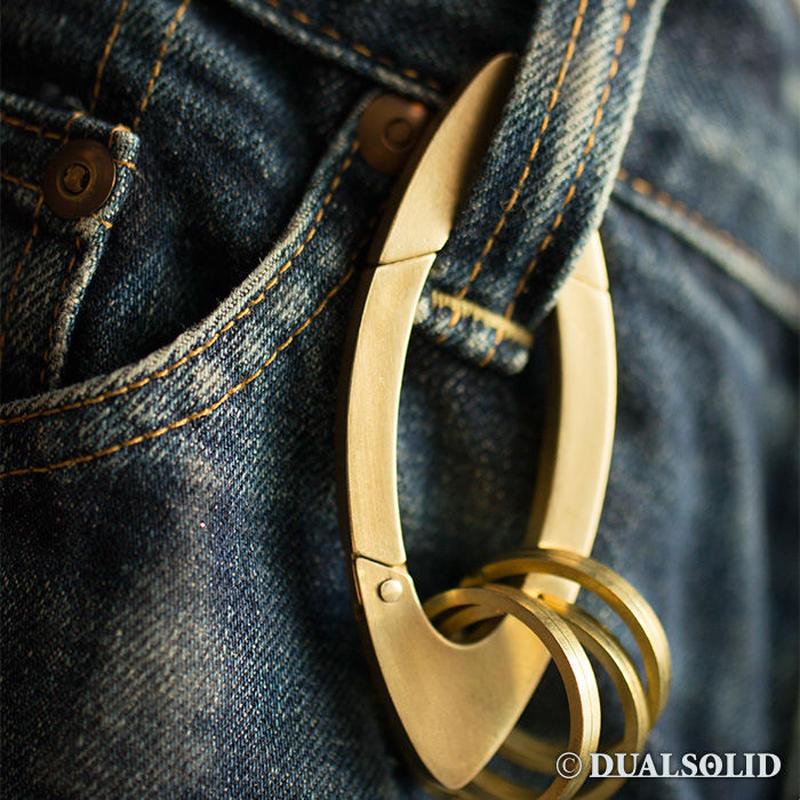 Brass Carabiner