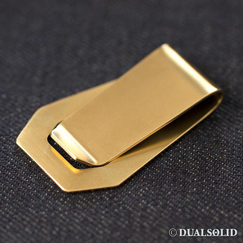 brass money clip