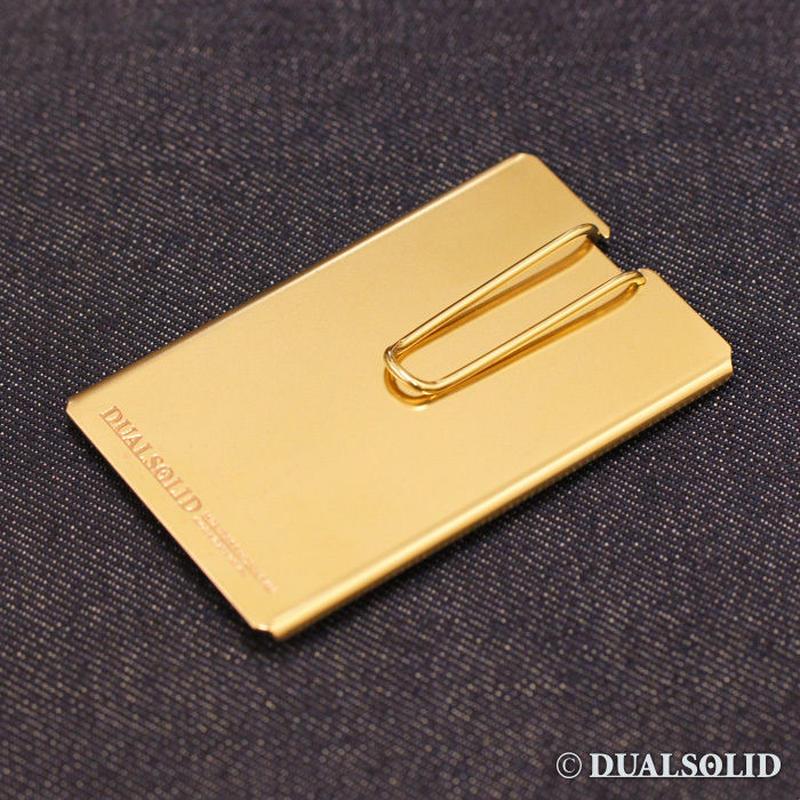 brass card & money clip