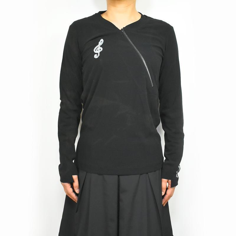 KOHSHIN SATOH レディース カットソー 〔CT-076〕(Black-36)