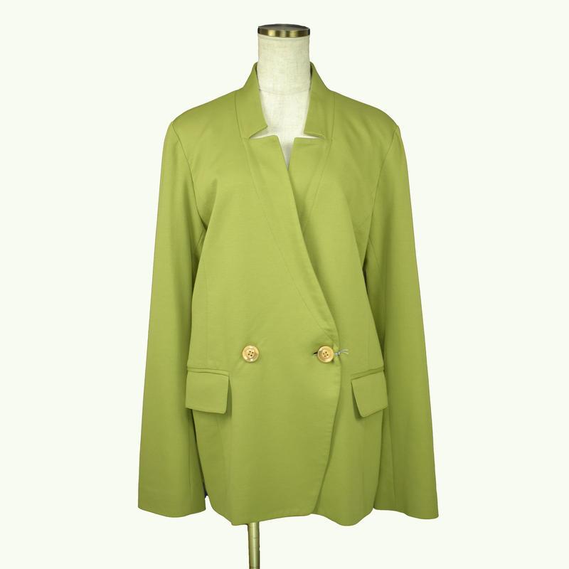 QUARTER FLASH カラージャケット〔1670309〕(Green)