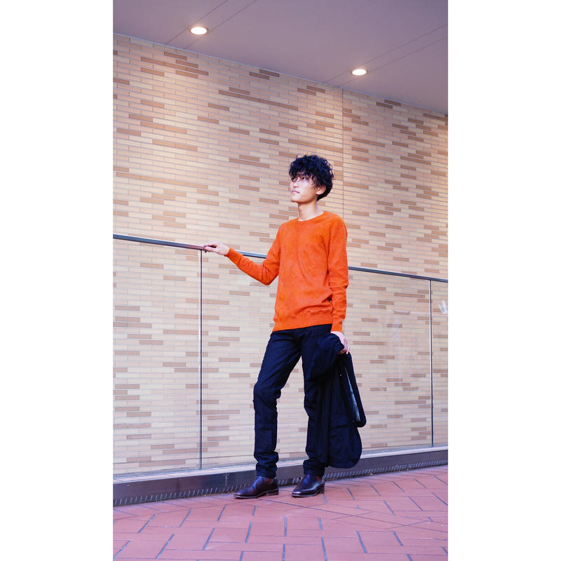 Kohshin Satoh カシミア セーター メンズ〔KT-803-1〕