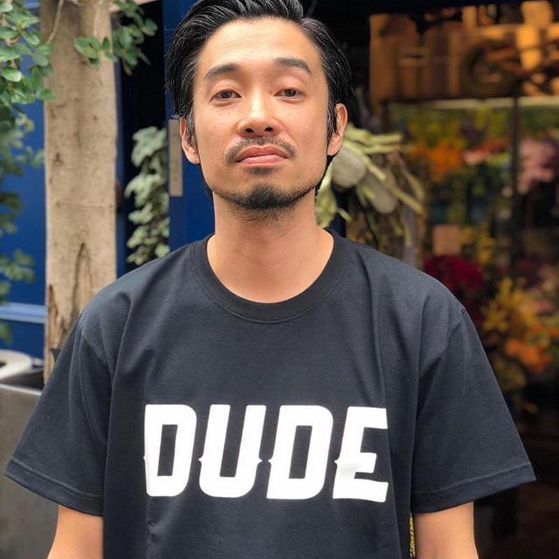 DUDE  LOGO H/S  Tシャツ