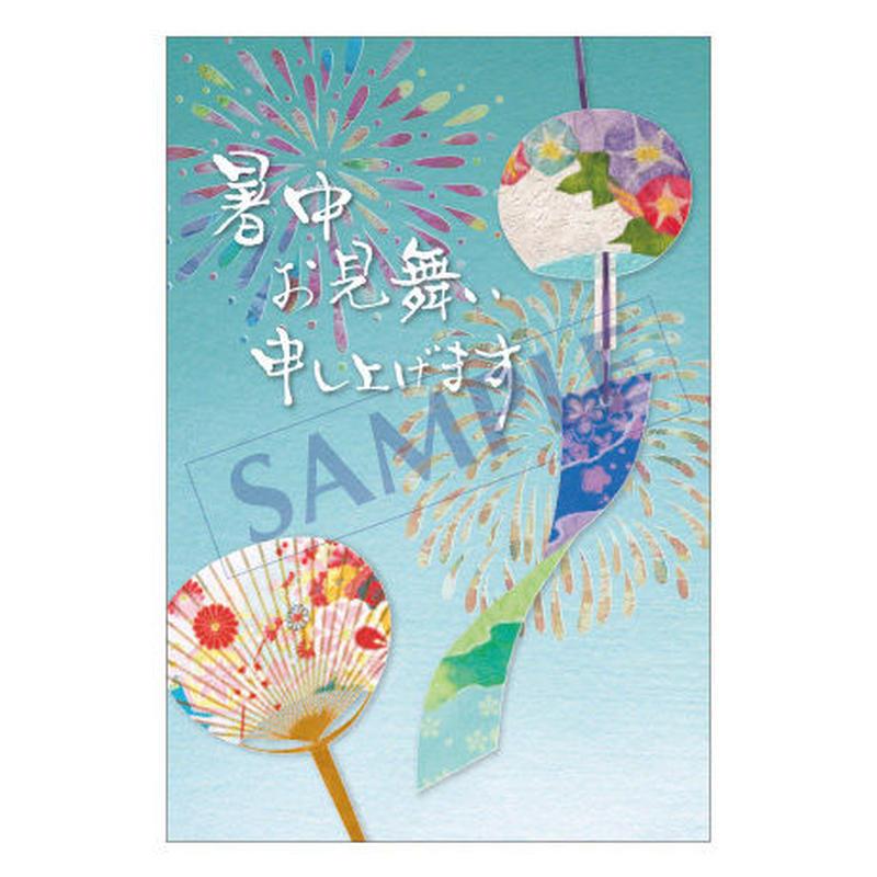 メッセージカード 季節の便り 17-0791 1セット(10枚)