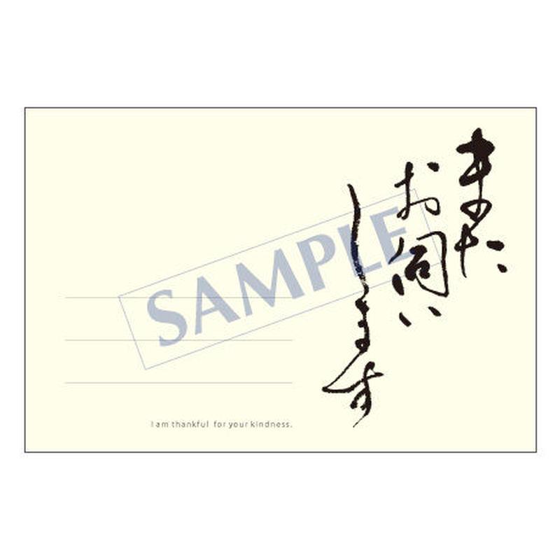 メッセージカード  出会い 感謝 お祝い ご挨拶 04-0065 1セット(10枚)