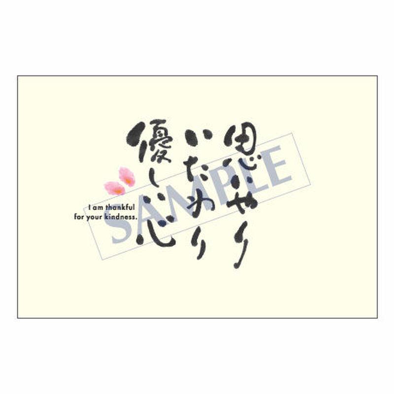 メッセージカード  出会い 感謝 お祝い ご挨拶 08-0267  1セット(10枚)