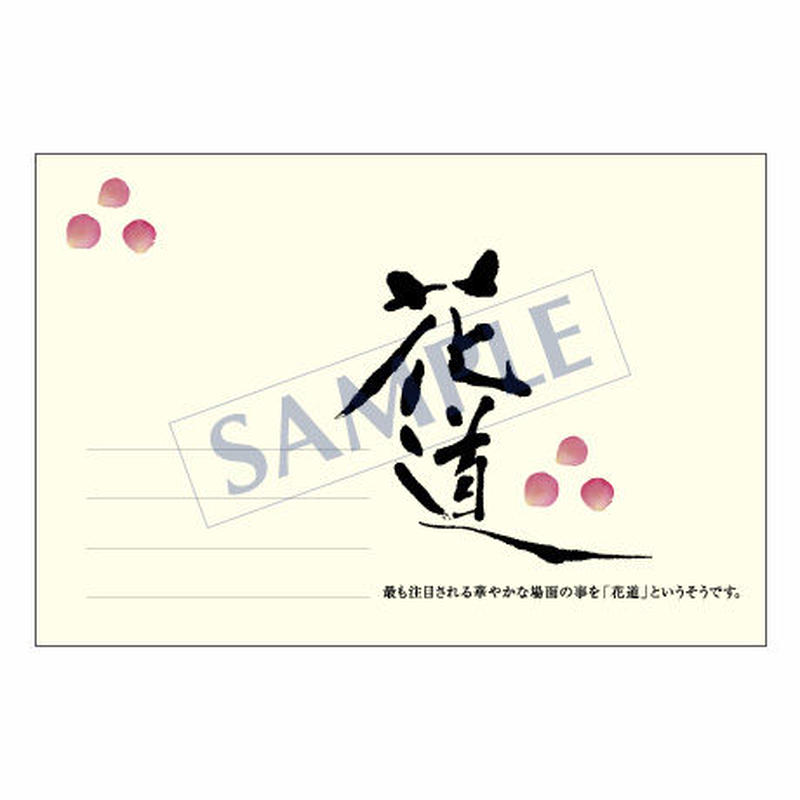 メッセージカード  出会い 感謝 お祝い ご挨拶 11-0502  1セット(10枚)