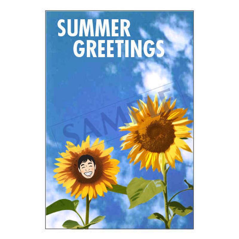 メッセージカード 季節の便り 16-0771(似顔絵ver) 1セット(10枚)