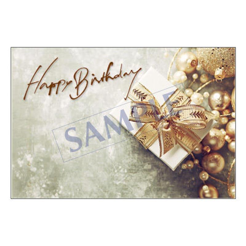 メッセージカード  バースデー  18-0833 1セット(10枚)