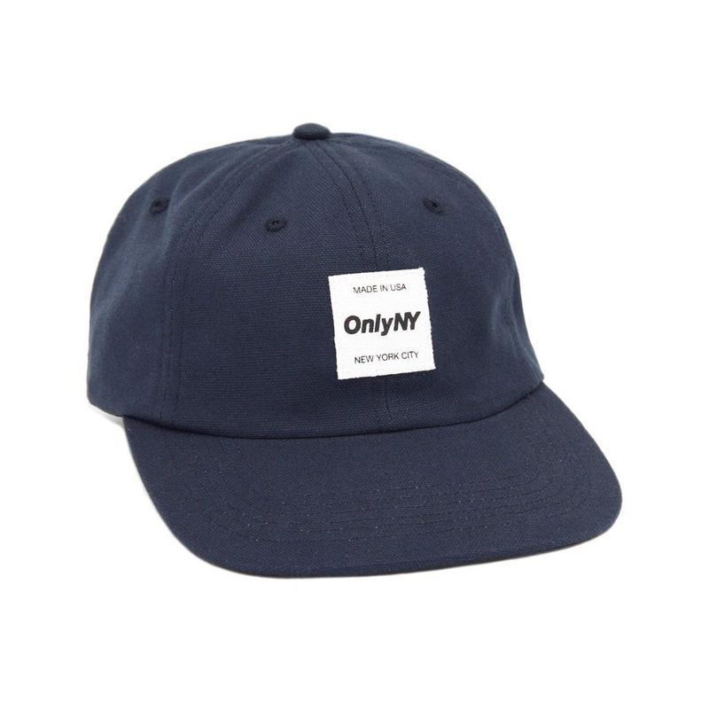 """""""ONLY NY"""" Messenger Polo Hat (Navy)"""