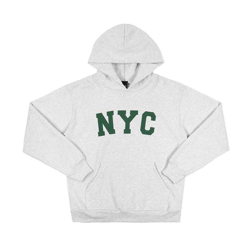 """""""ONLY NY"""" NYC Hoody (Heather Grey)"""
