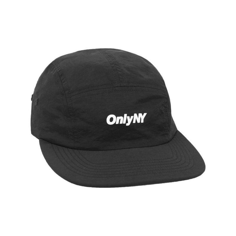"""ONLY NY"" Logo 5-Panel Hat (Black)"