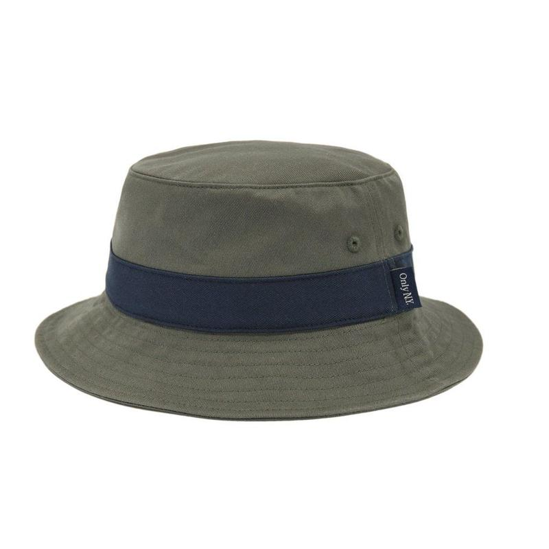 """ONLY NY"" Port Bucket Hat (Olive)"