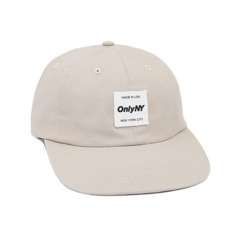 """""""ONLY NY"""" Messenger Polo Hat (Bone)"""