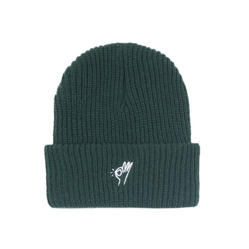 """""""ONLY NY"""" OK Beanie (College Green)"""