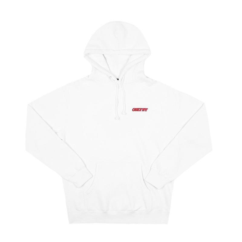 """ONLY NY"" Planet Hoody (White)"
