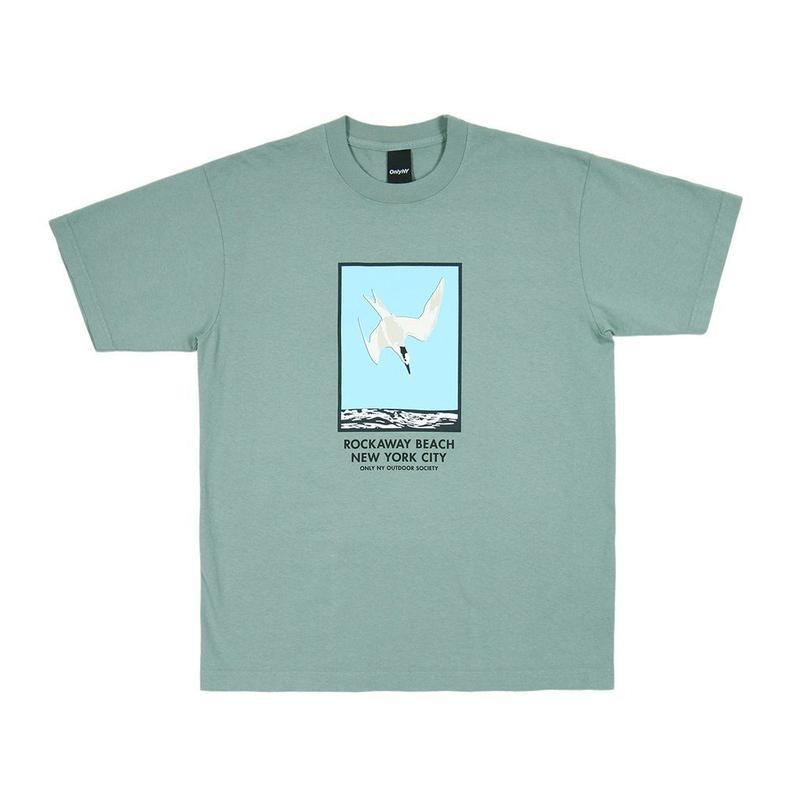 """""""ONLY NY"""" Rockaway Beach T-Shirt (Atlantic Green)"""