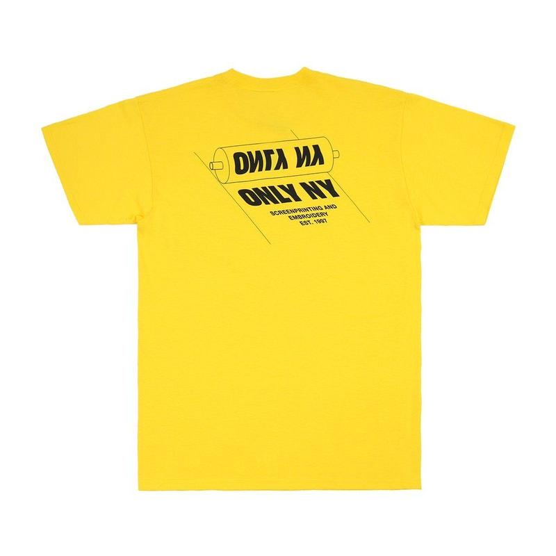 """ONLY NY"" Printers T-Shirt (Lemon)"