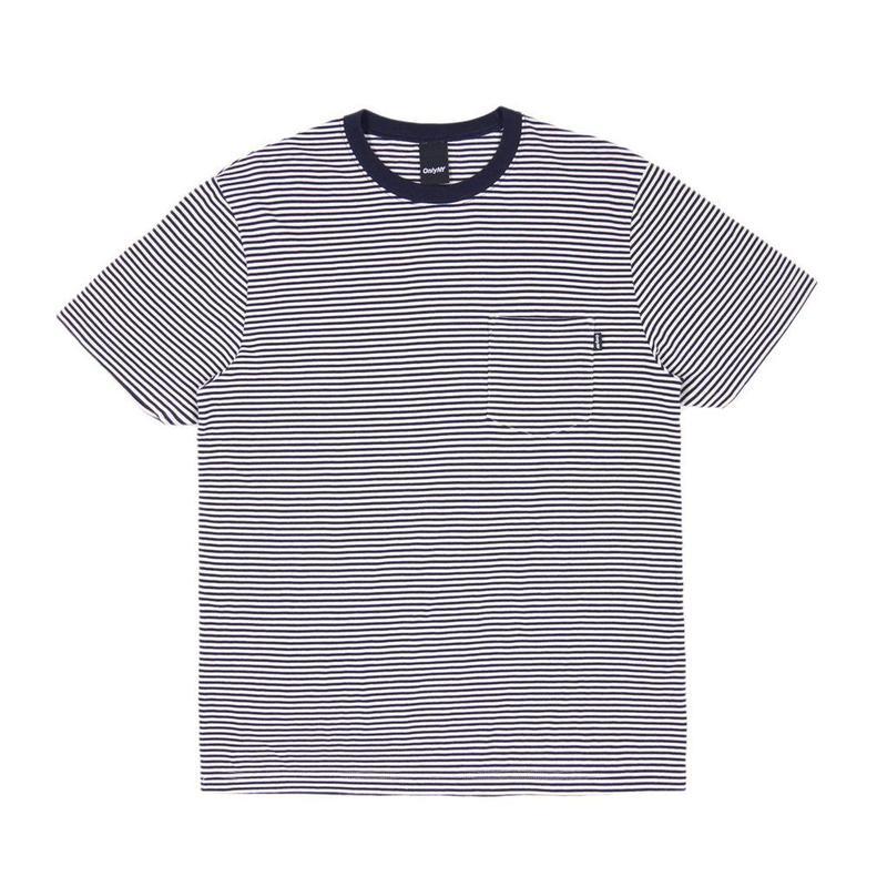 """""""ONLY"""" Mercer Stripe Pocket T-Shirt"""