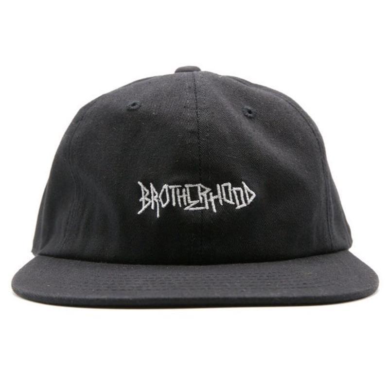 """BROTHERHOOD"" ICONIC HAT (BLACK)"