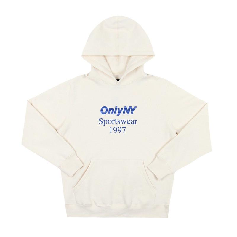 """ONLY NY"" Sportswear Hoody (Cream)"