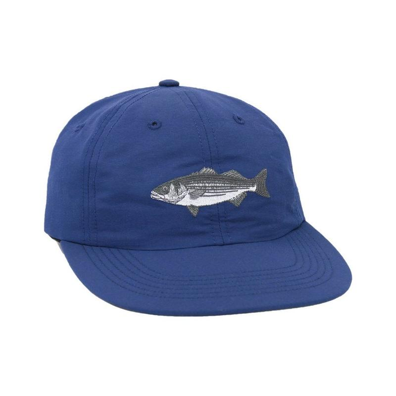 """ONLY NY"" Striped Bass Polo Hat (Navy)"