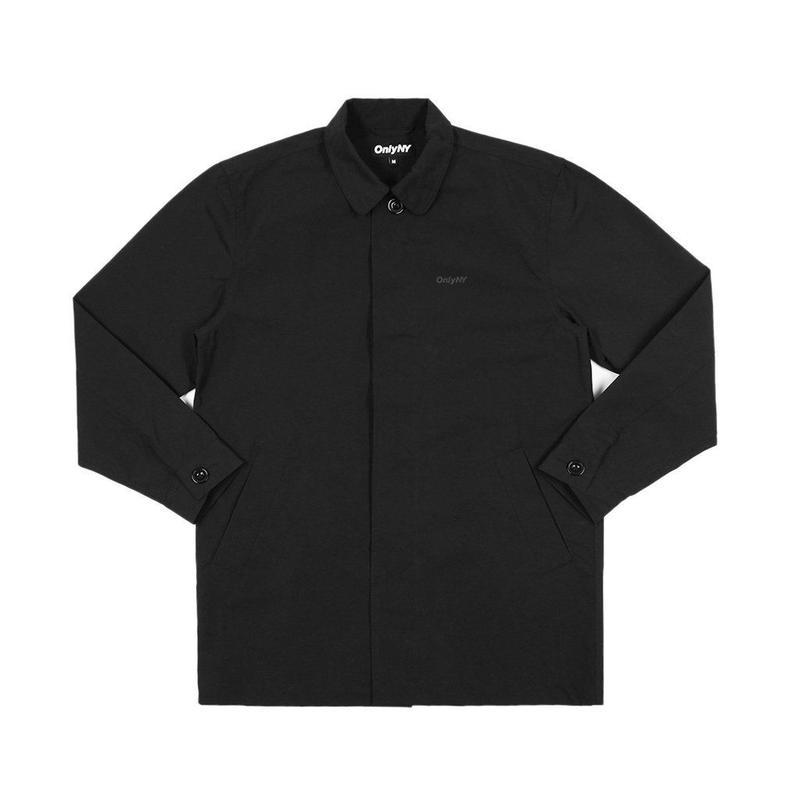 """""""ONLY NY"""" Crosby Street Trench Coat (Black)"""