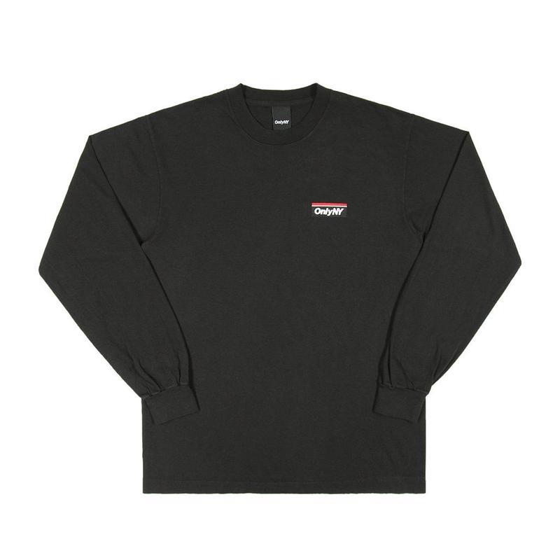 """""""ONLY NY"""" Subway Logo L/S T-Shirt (Black)"""
