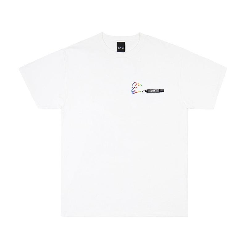"""ONLY NY"" Marker T-Shirt (White)"