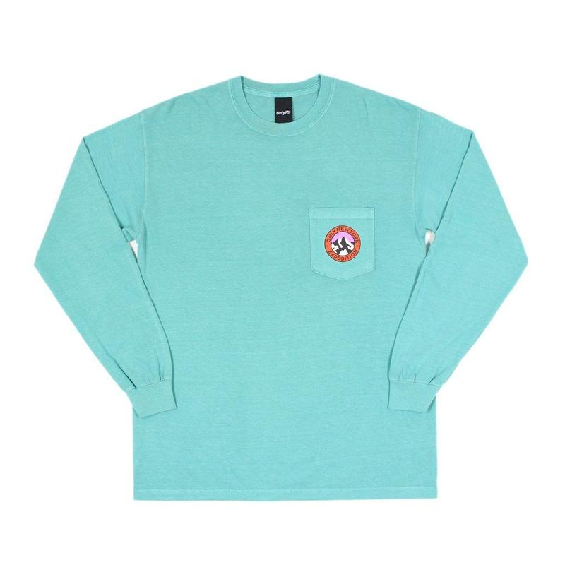 """ONLY NY"" Expedition Pocket L/S T-Shirt (Seafoam)"