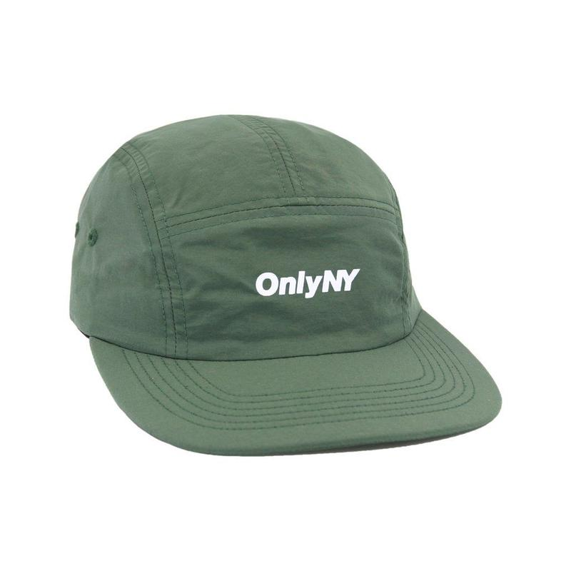 """ONLY NY"" Logo 5-Panel Hat (Olive)"
