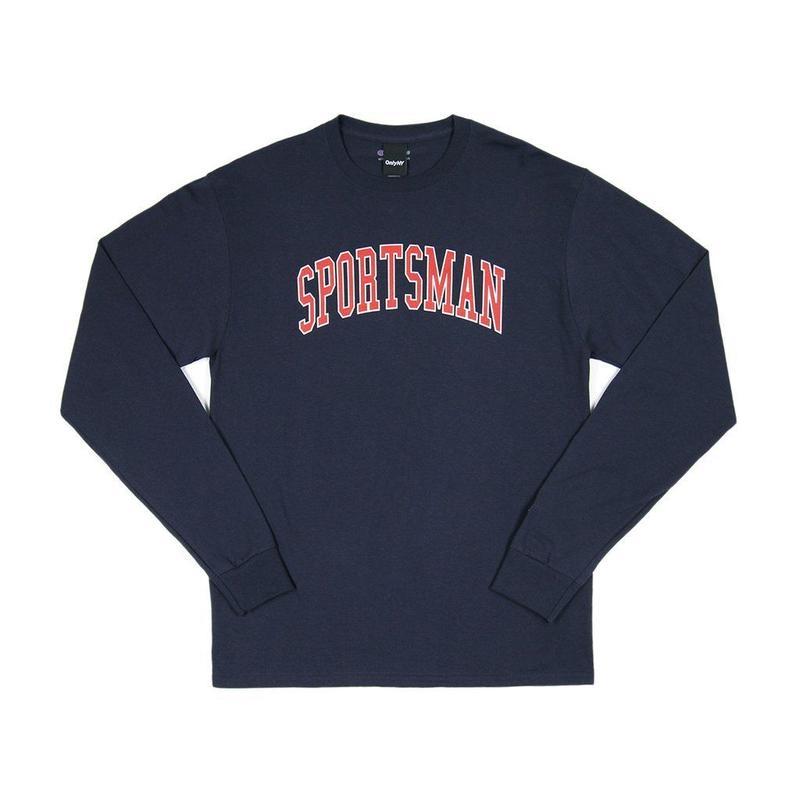 """ONLY NY"" Sportsman Champion® L/S T-Shirt (Navy)"