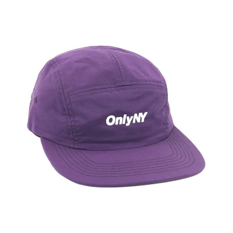"""ONLY NY"" Logo 5-Panel Hat (Violet)"