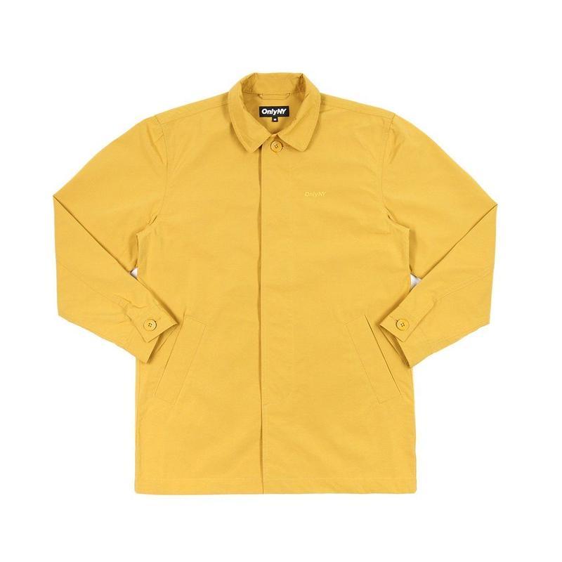 """ONLY NY"" Crosby Street Trench Coat (Transit Yellow)"