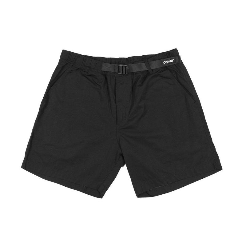 """ONLY NY"" Hiking Shorts (Black)"