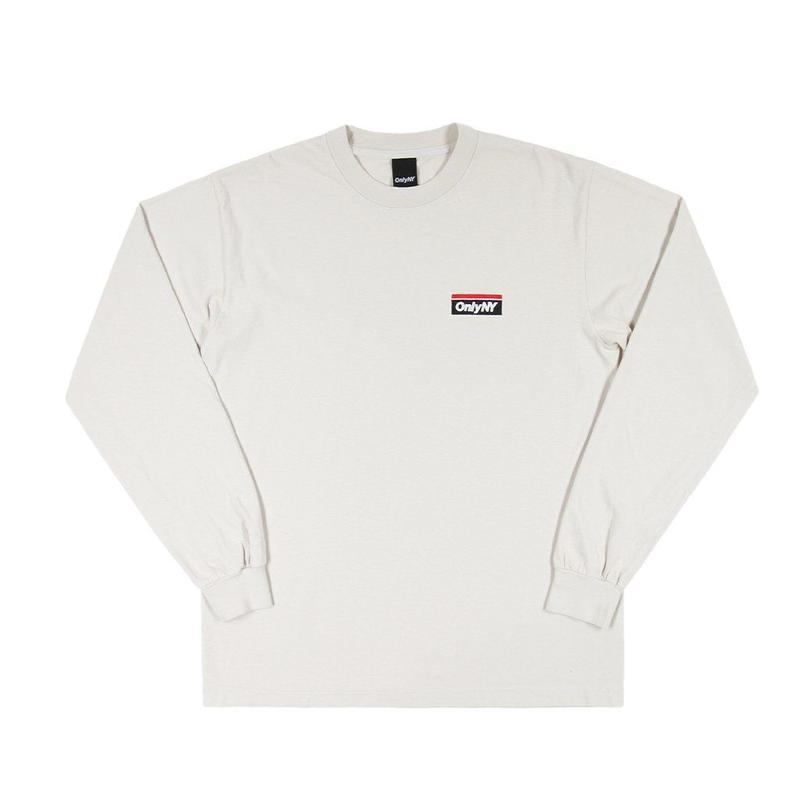 """""""ONLY NY"""" Subway Logo L/S T-Shirt (Cement)"""