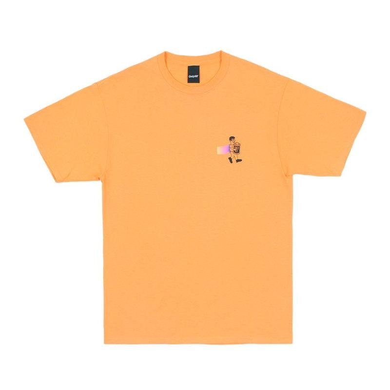 """ONLY NY"" 1 Hour Photo T-Shirt (Papaya)"