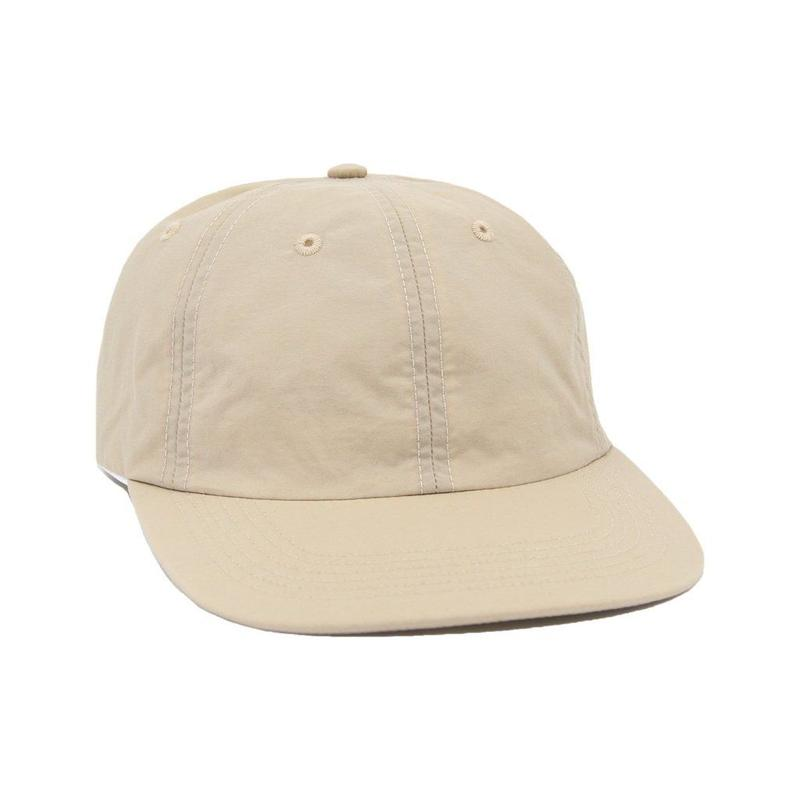 """ONLY NY"" Nylon Tech Polo Hat (Sand)"