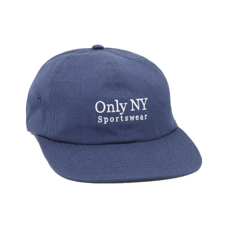 """ONLY NY"" Guideline Polo Hat (Vintage Navy)"