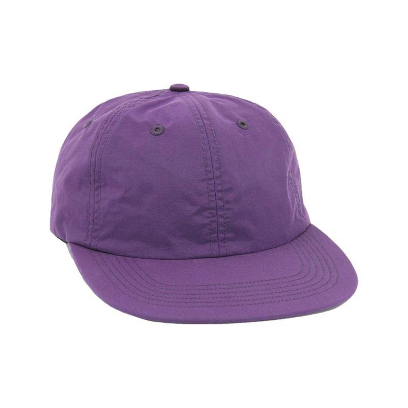 """ONLY NY"" Nylon Tech Polo Hat (Violet)"