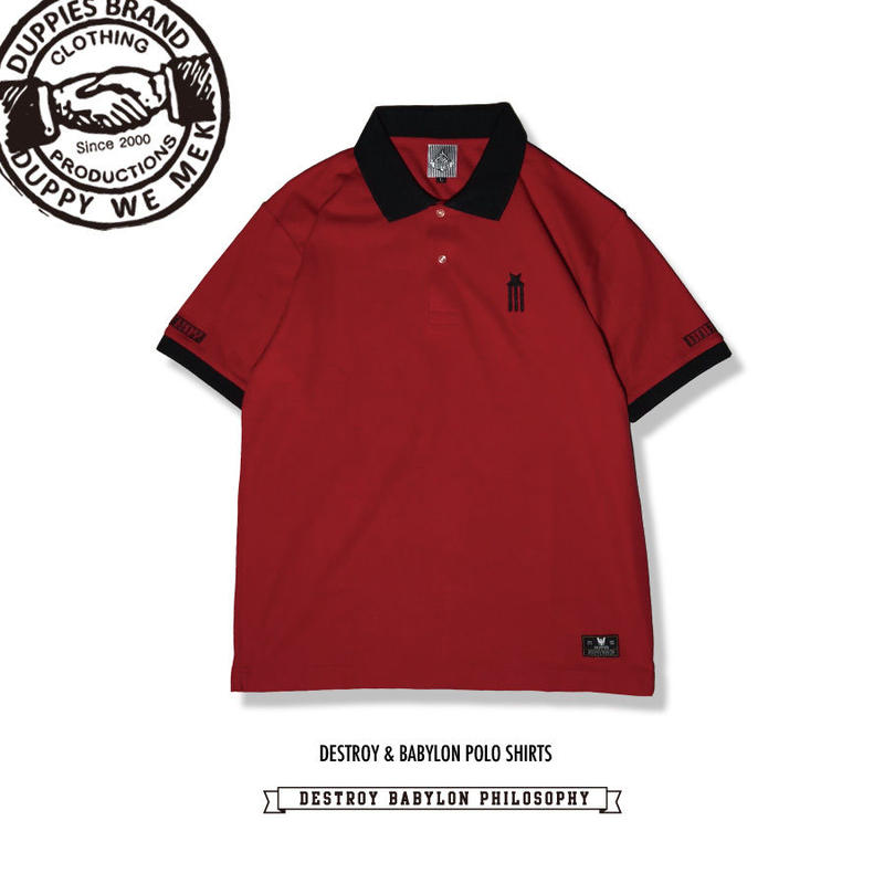 Destroy & Babylon / Polo Shirts