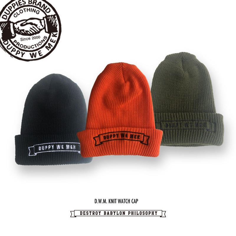 D.W.M. / Knit Watch Cap