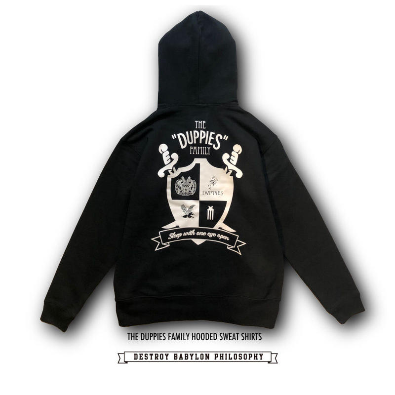 Duppies Family / 10.0oz Hooded Sweat (Zip-up) Shirts