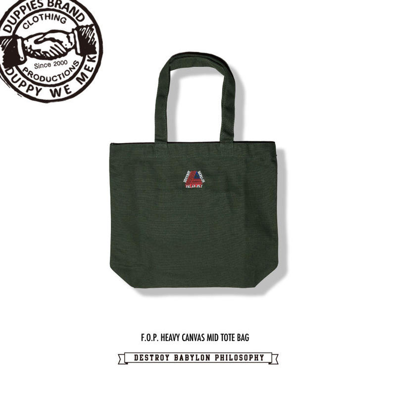 F.O.P. / Heavy Canvas Mid Tote Bag