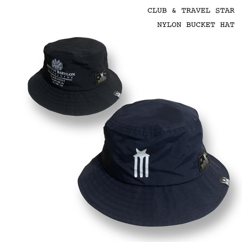 Club & Travel Star / Nylon Bucket Hat