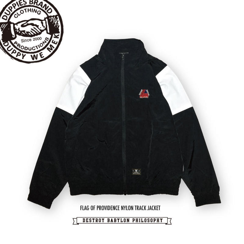 Flag Of Providence / Nylon Track Jacket