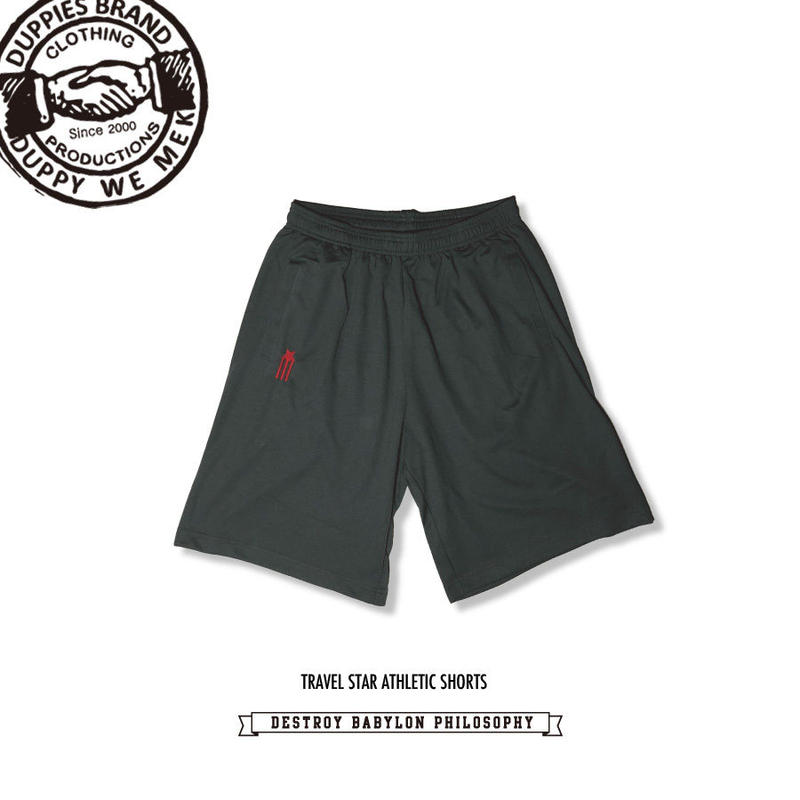 Travel Star / Dry Athletic Shorts